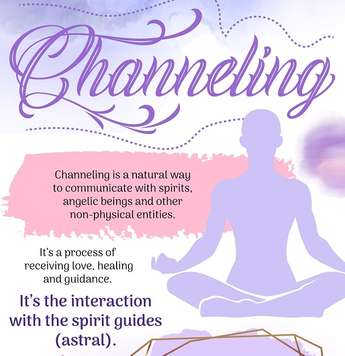 Channeling is a natural way to communicate with spirits, angelic beings and other non-physical entities. It's a process of receiving love, healing and guidance.