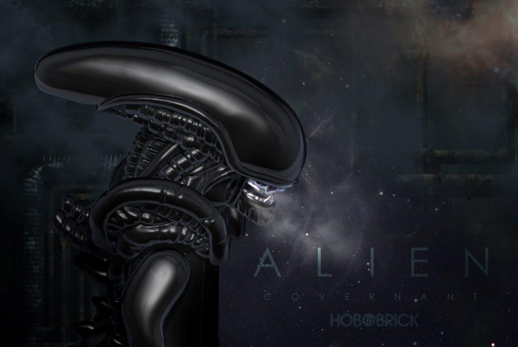 xenomorph from the movie Alien